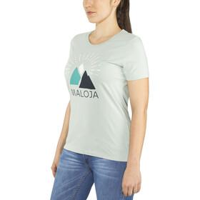 Maloja CadalpenaM. Camiseta Mujer, cliff